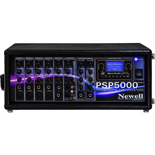 PSP 5000 Mixer Amplificado (500WRMS MÁX / TRUE POWER 250WRMS)