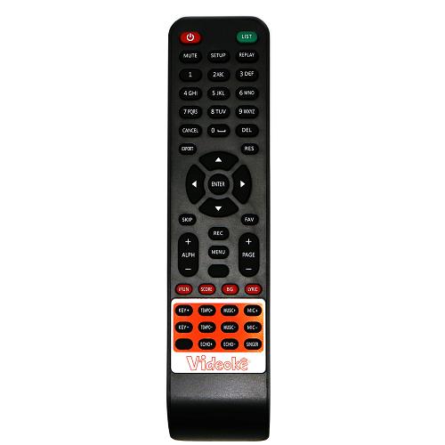Controle do Videokê VSK 2.5