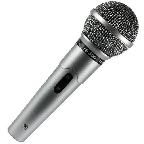 Microfone MC-200 Cardioide Profissional Prata